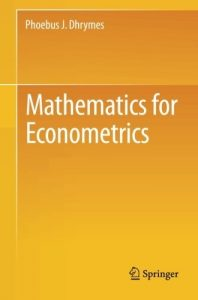 mathematics-for-econometrics-phoebus-dhrymes